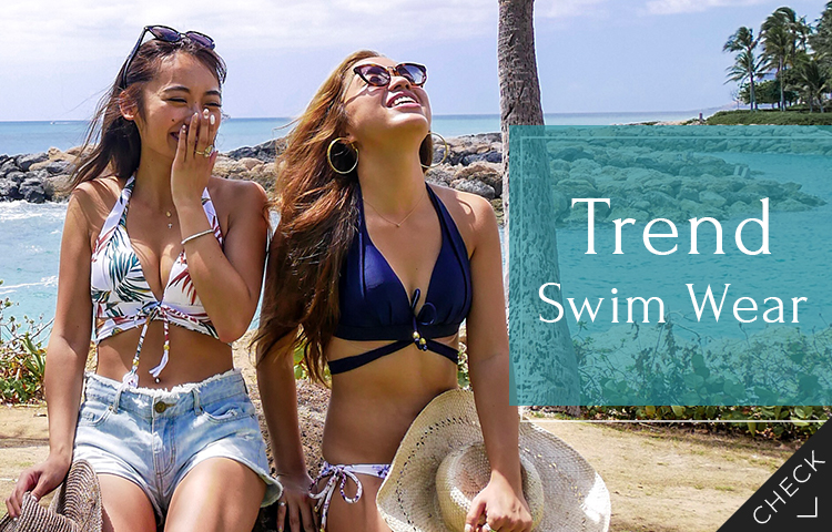 Trend Swim Wear|20代におすすめの最新トレンド水着をご紹介!