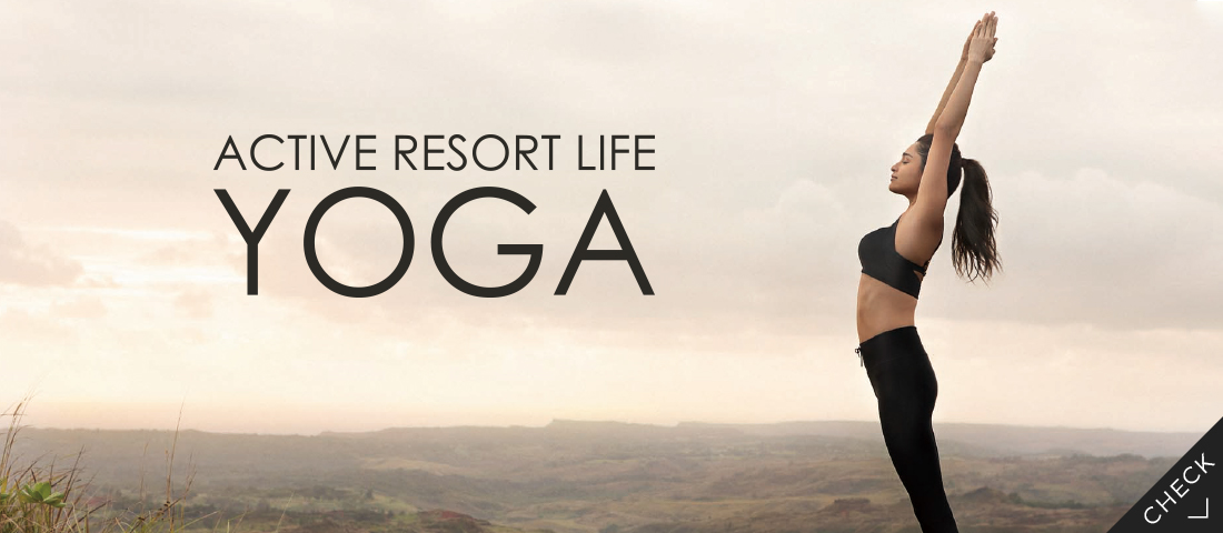 ACTIVE RESORT LIFE YOGA