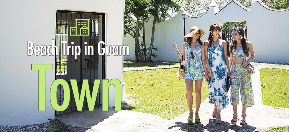 Beach Trip in Guam   Town