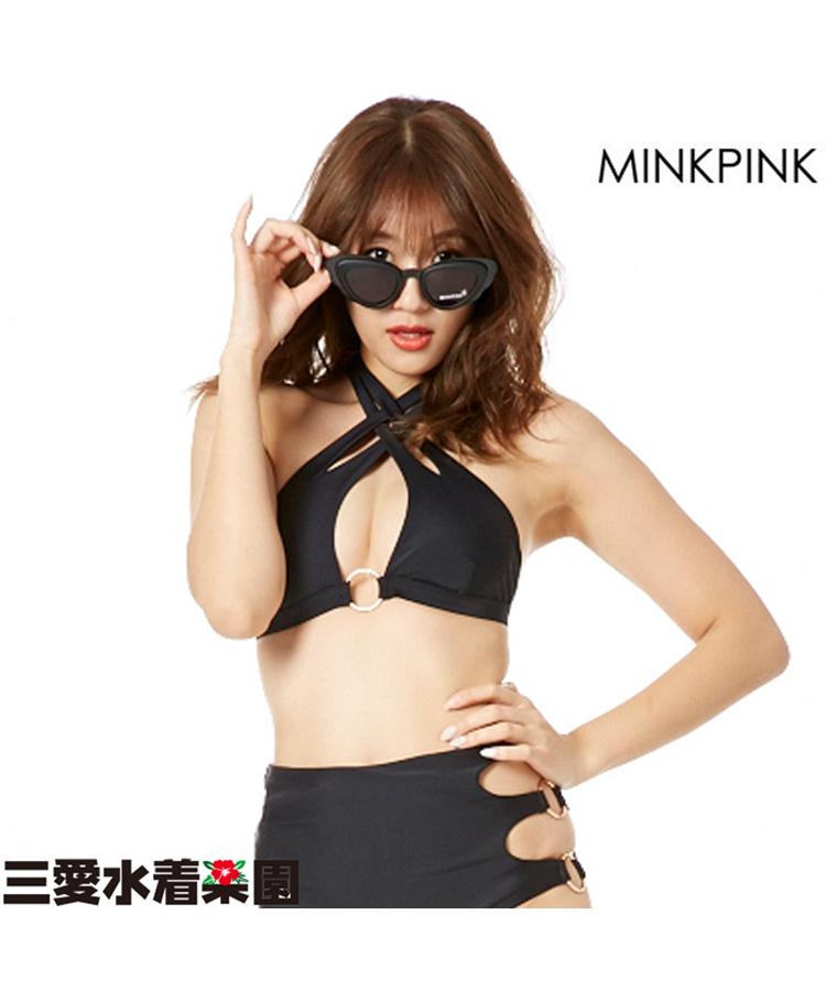 【MINKPINK】THE RUN AROUND MP EDIT サングラス F