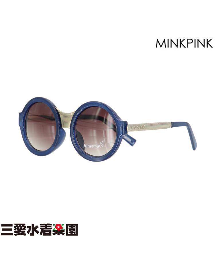 【MINKPINK】FIERCE SIGHT MP EDIT 丸型 サングラス F