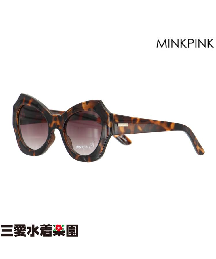 【MINKPINK】HAUTE IN HERE MP EDIT べっ甲 サングラス F