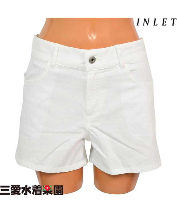 【クリアランスセール】【INLET】ストレッチカラー デニムショートパンツ S/M/L/LL