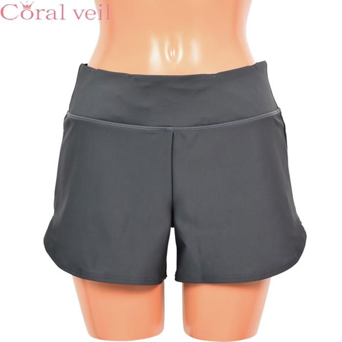 【SALE】【Sports】【Coral Veil】2WAY 無地ショートパンツ M/L