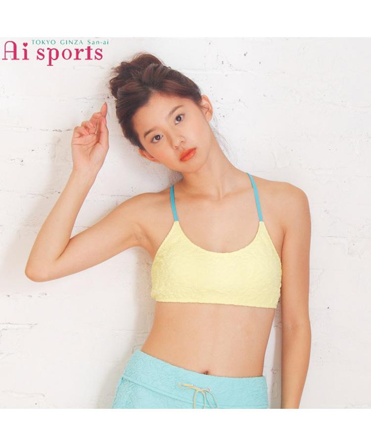 【SALE】【Sports】【AI Sports】FancyFlower ブラトップ M
