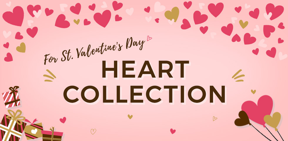 Heart Collection For St. Valentine's Day
